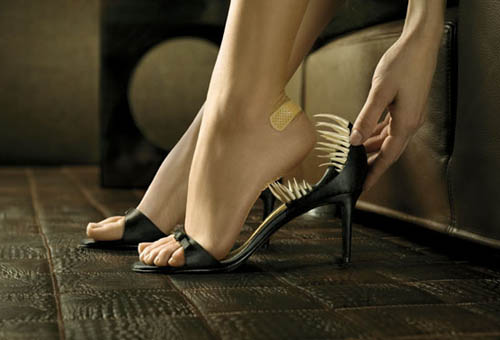 Ankle Biting High Heel Shoes