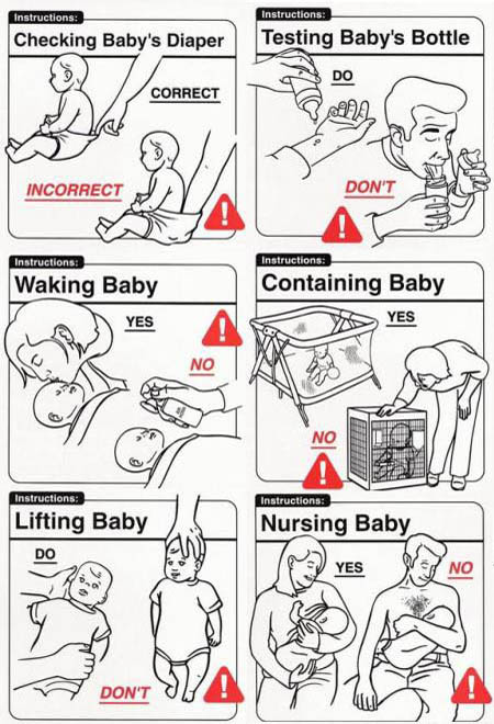 Newborn Baby Do's and Don'ts