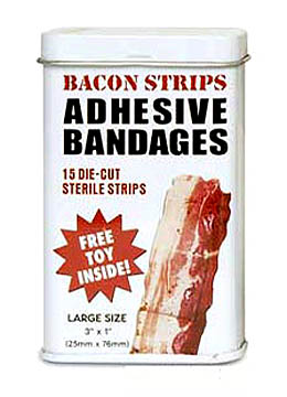 Bacon Strips | Band-aid Adhesive Bandages