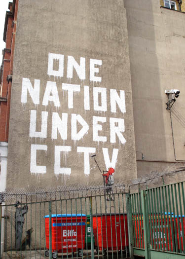 Banksy Street Art | One Nation Under CCTV