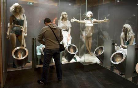 Restroom Mannequins