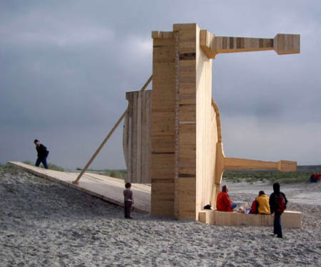 Giant Beached Pianos