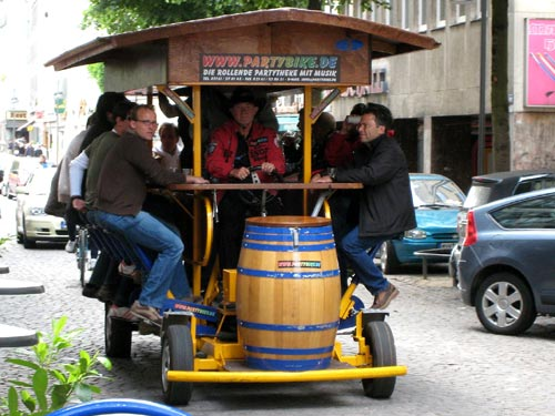 The Beer Bike | Cologne, Germany