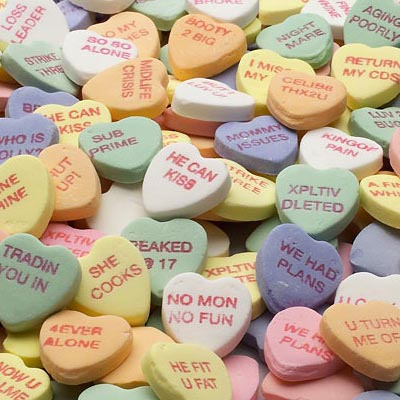 Despair Inc | Bittersweets Candy Hearts
