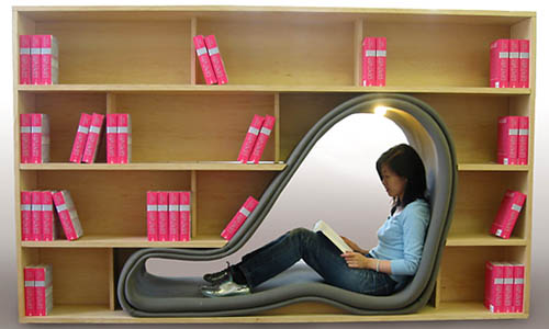 Bookcase Lounge