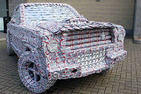 5000 Budweiser Beer Can Mustang