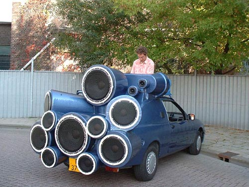 Mobile DJ Car Stereo