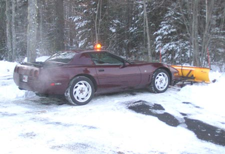Corvette Snowplow