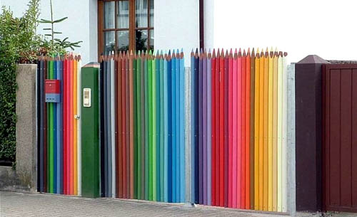 Prisma-Colored Pencil Fence