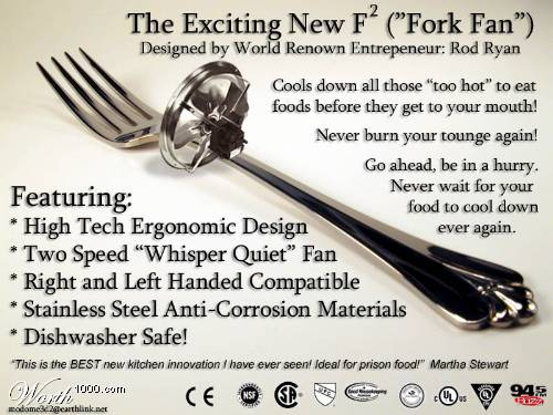 Fork Fan, Never Burn Your Tongue Again
