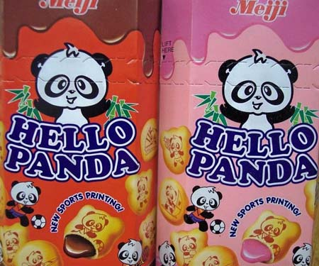 Hello Panda Cookie Snacks