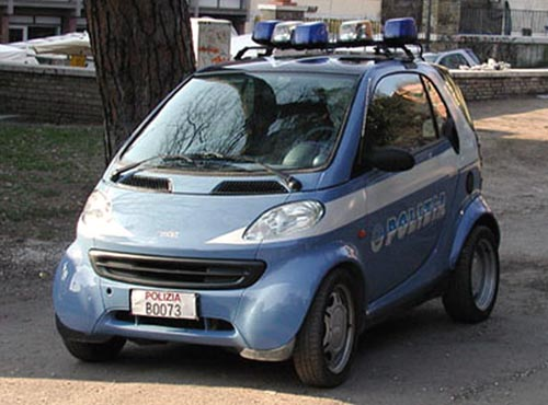 Italian Police | Smart Car