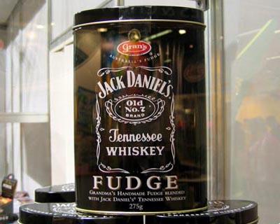 Jack Daniels Fudge