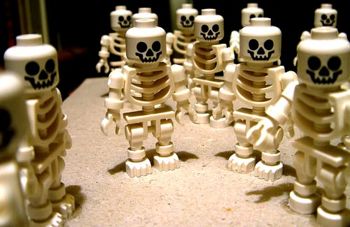 Lego People Skeletons