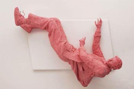 Chewing Gum Sculpture by Maurizio Savini