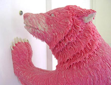 Chewing Gum Bear Sculpture