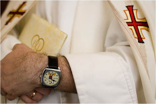 Mickey Mouse Wristwatch Priest