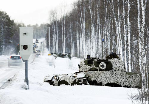 Swedish Military Speed Trap