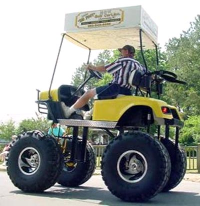 Monster Golf Cart