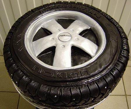 Nokian Tire Cake