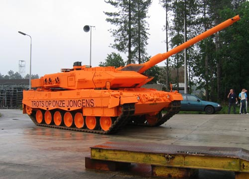 Dutch Tank | Proud Of Our Boys