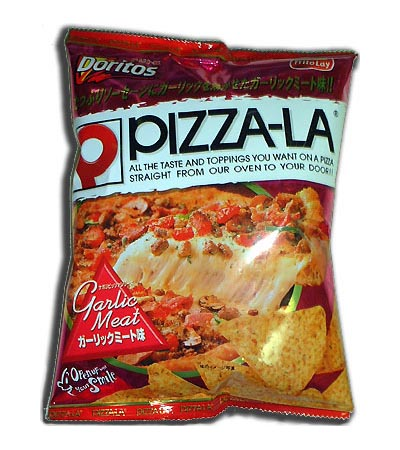 Garlic Meat Pizza Doritos
