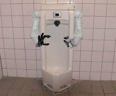 Hands Free Urinal