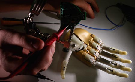 Bionic Prosthetic Hand