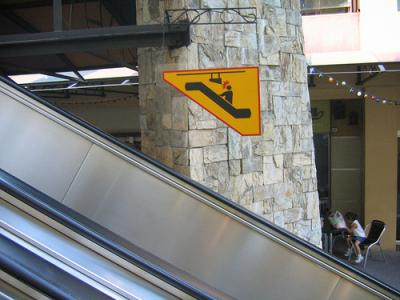 Escalator Sign