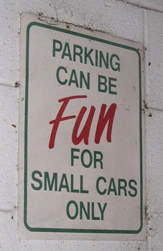 For Small Cars Only