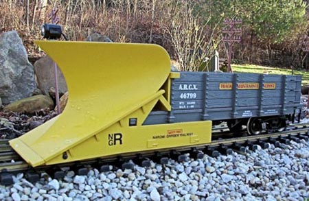 Train Snow Plow