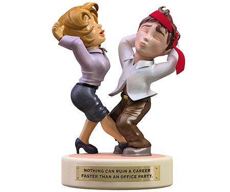 Office Party Figurine