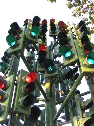 Cluster of Traffic Lights