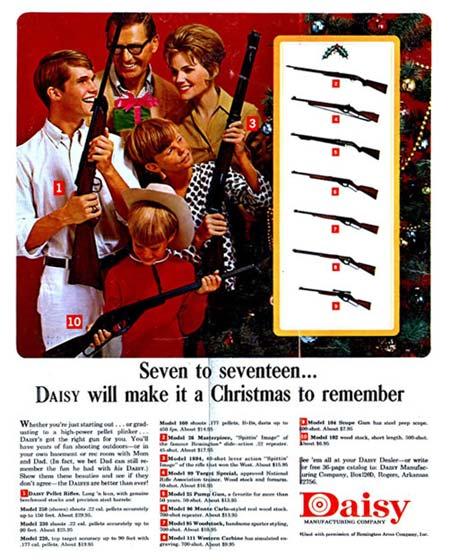 Vintage Daisy BB Guns Ad