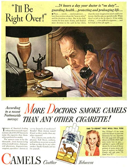 More Doctors Smoke Camels Advert