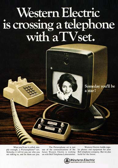 Vintage Picturephone Advert