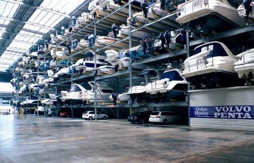 Volvo Yacht Storage