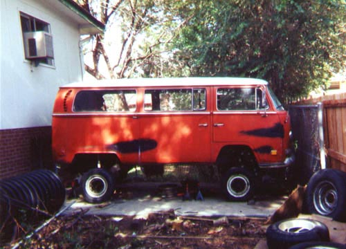Volkswagen Bus Lift