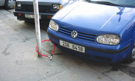 Low Tech Anti Theft Device