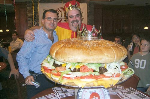 World Biggest Hamburger