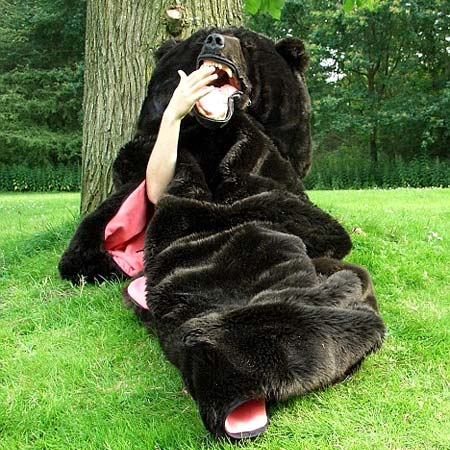 Grizzly Bear Sleeping Bag