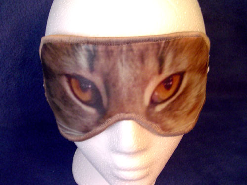 Cats Eyes Sleep Mask