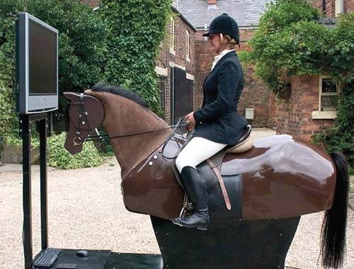 English Riding Horseback Simulator