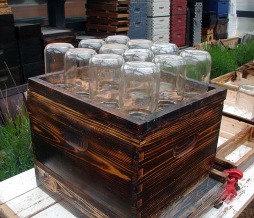 DIY Backyard Jar Beehive