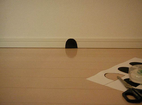 DIY Faux Mouse Hole