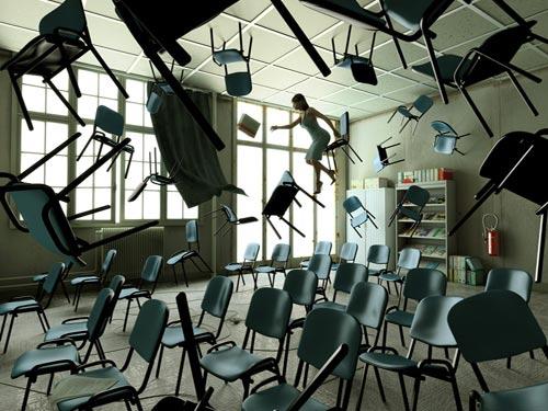 Weightless Classroom