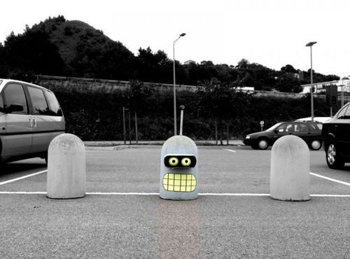 Bender Parking Barrier