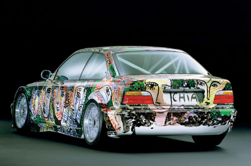 Rear View BMW Art Car