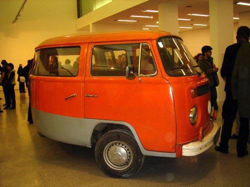 Volkswagen Van Art Piece
