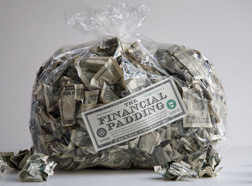 Bag of Money Financial Padding